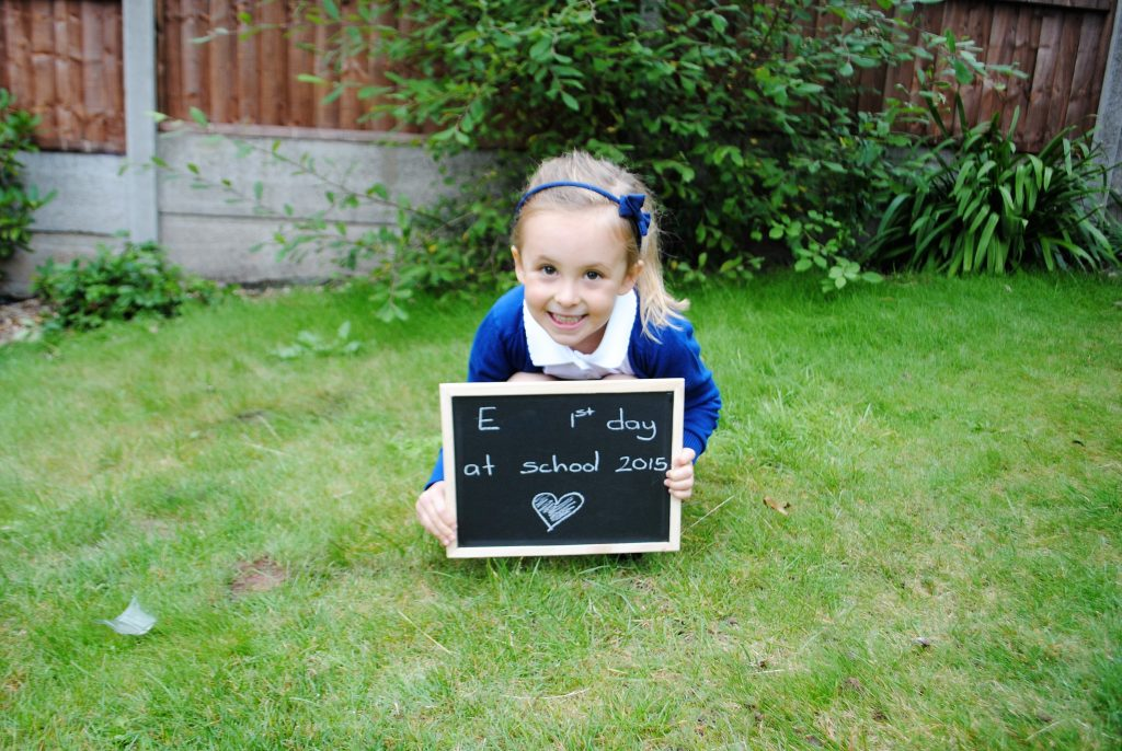 First Last day at school photo
