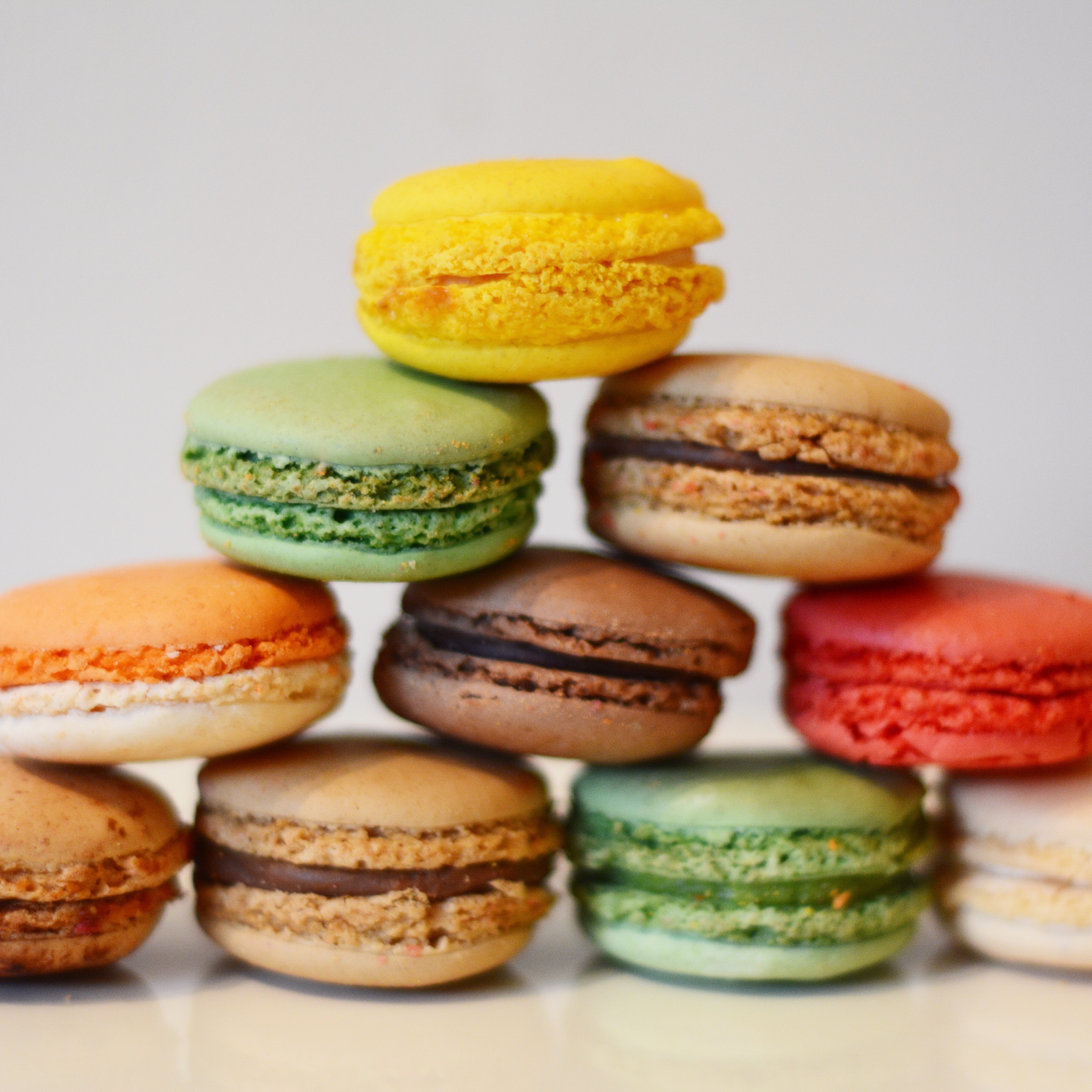 making birthdays special with macarons