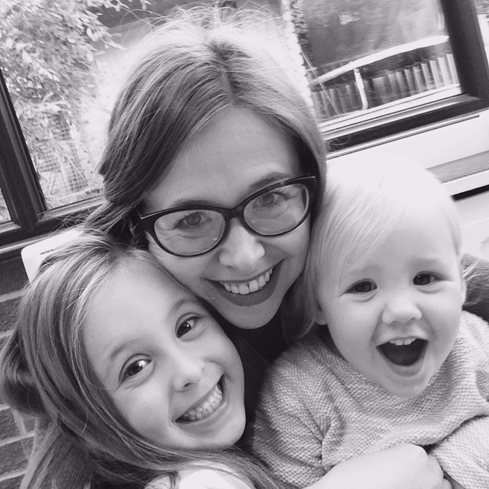 making birthdays special selfies with my little ladies