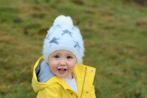 Solo Parenting yellow rain coats