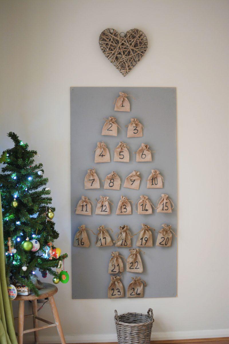 Home made activity advent calendar