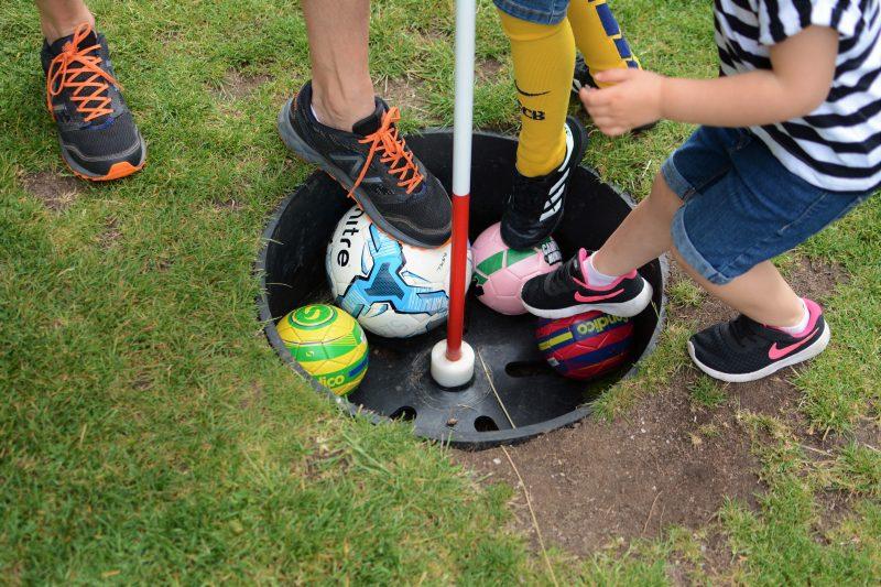 Family Fun at Footgolf