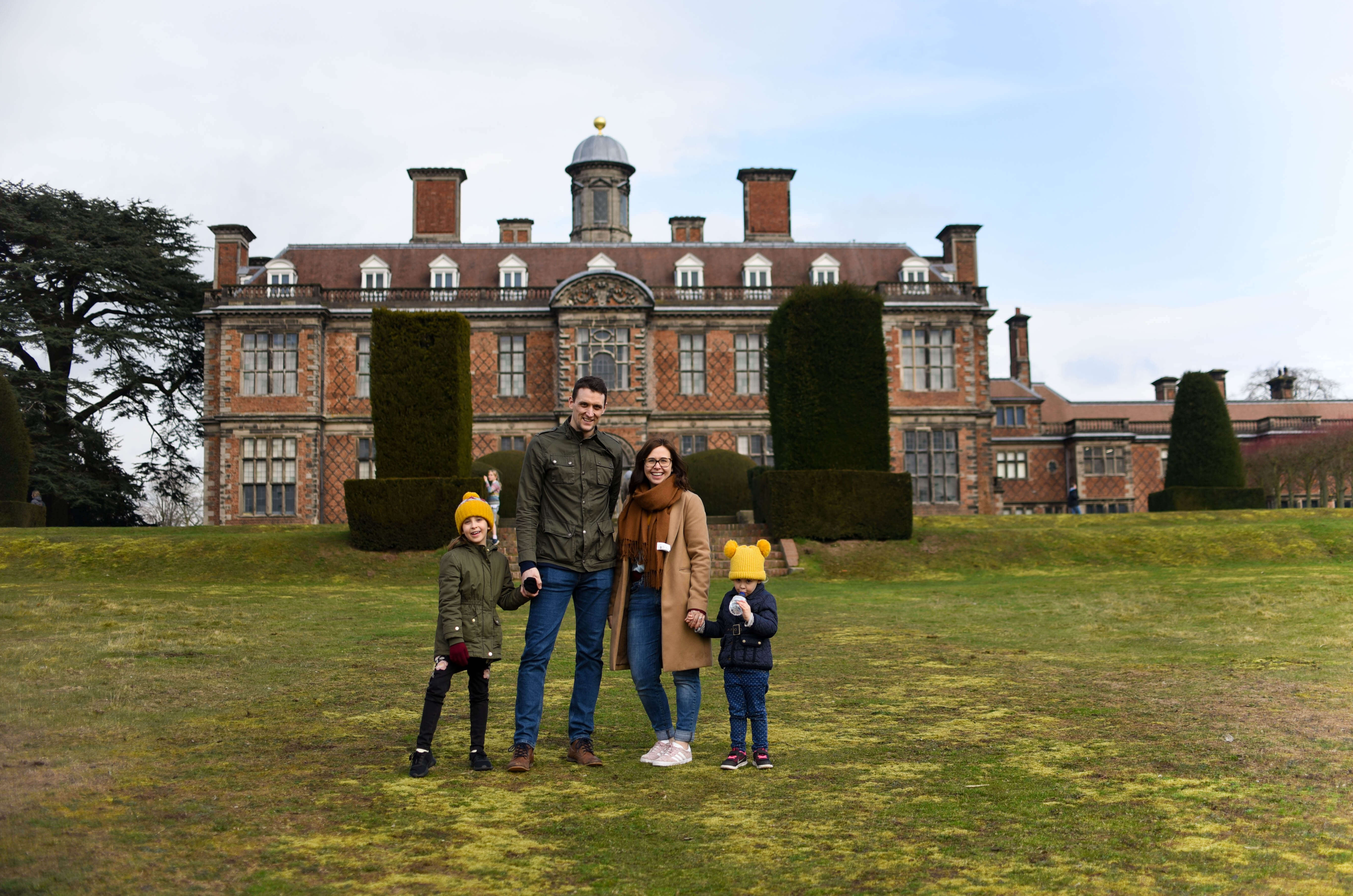 Our low spend half term national trust Sudbury hall