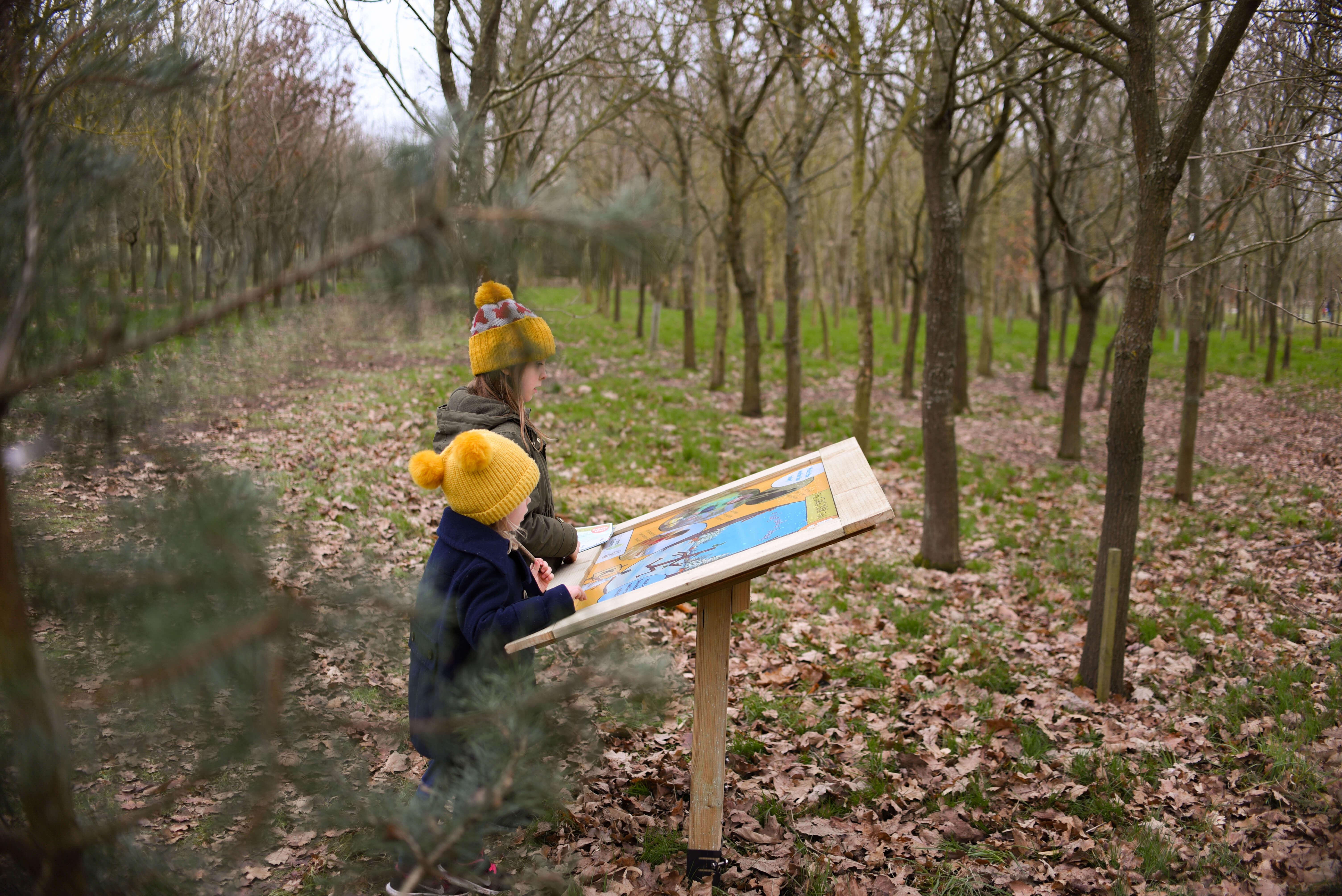our low spend half term national memorial arboretum stick man trail pop up cinema