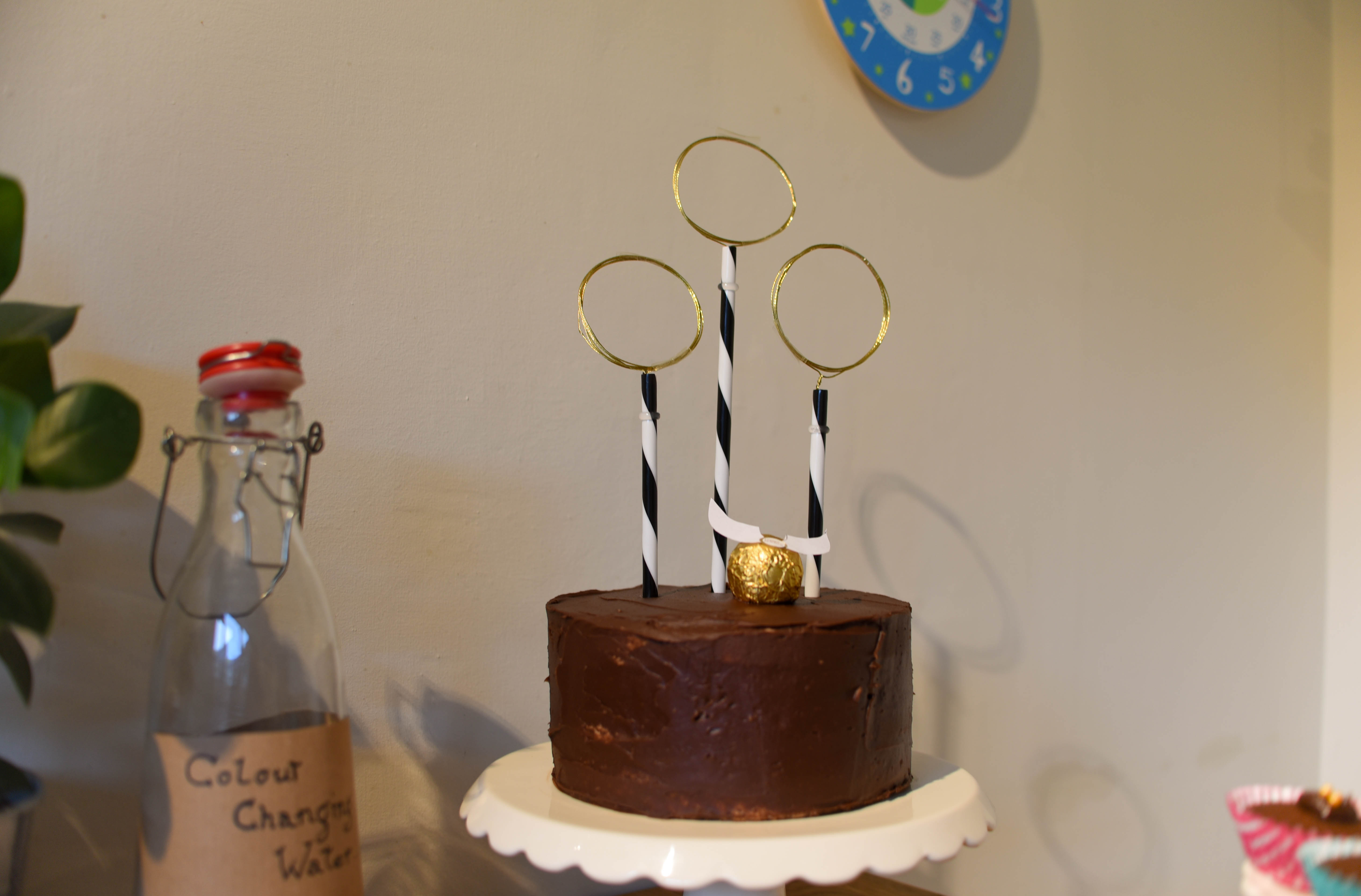 Harry Potter Quidditch Cake