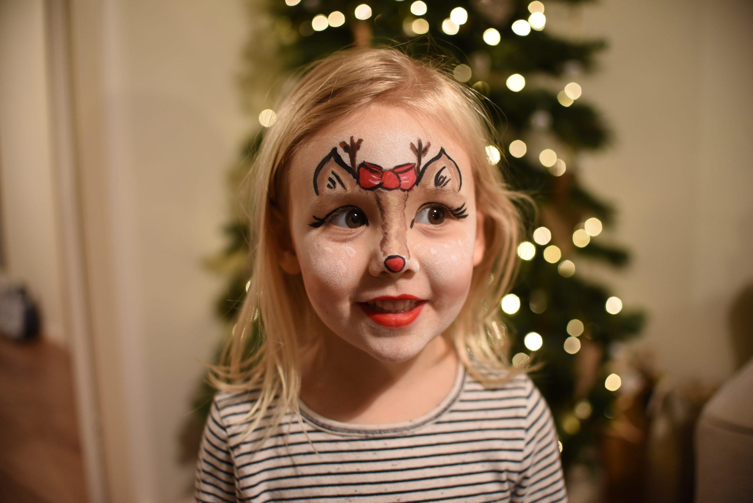 Christmas face paints