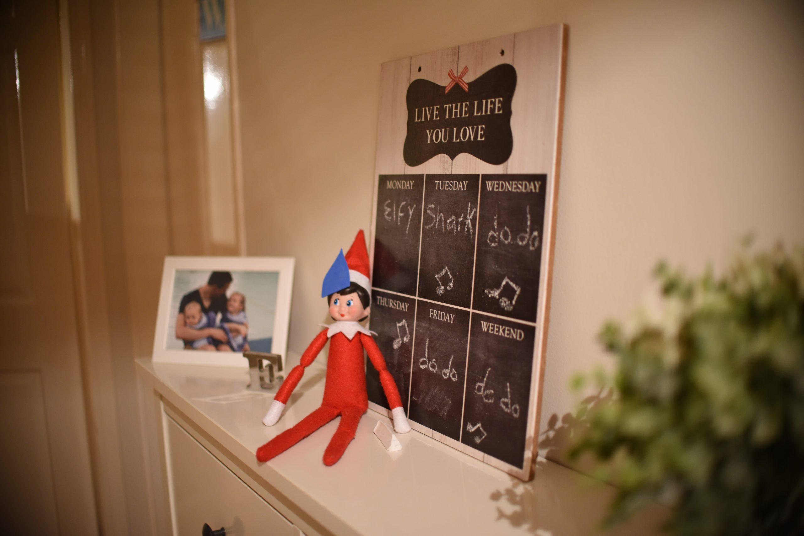 elf on the shelf baby shark