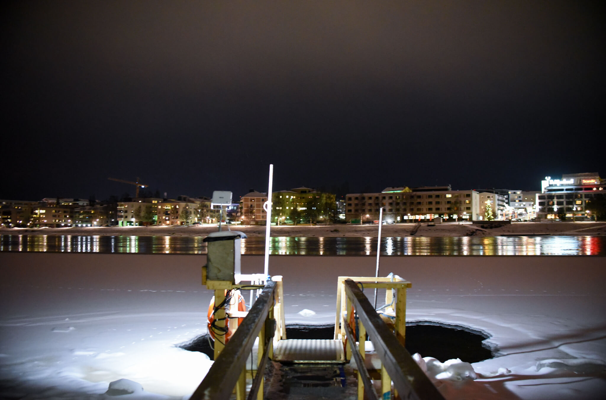 Lapland Winter Ice Swimming