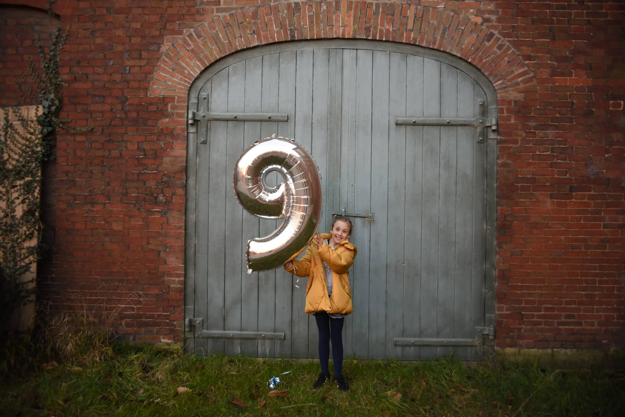 Happy 9th Birthday Letter