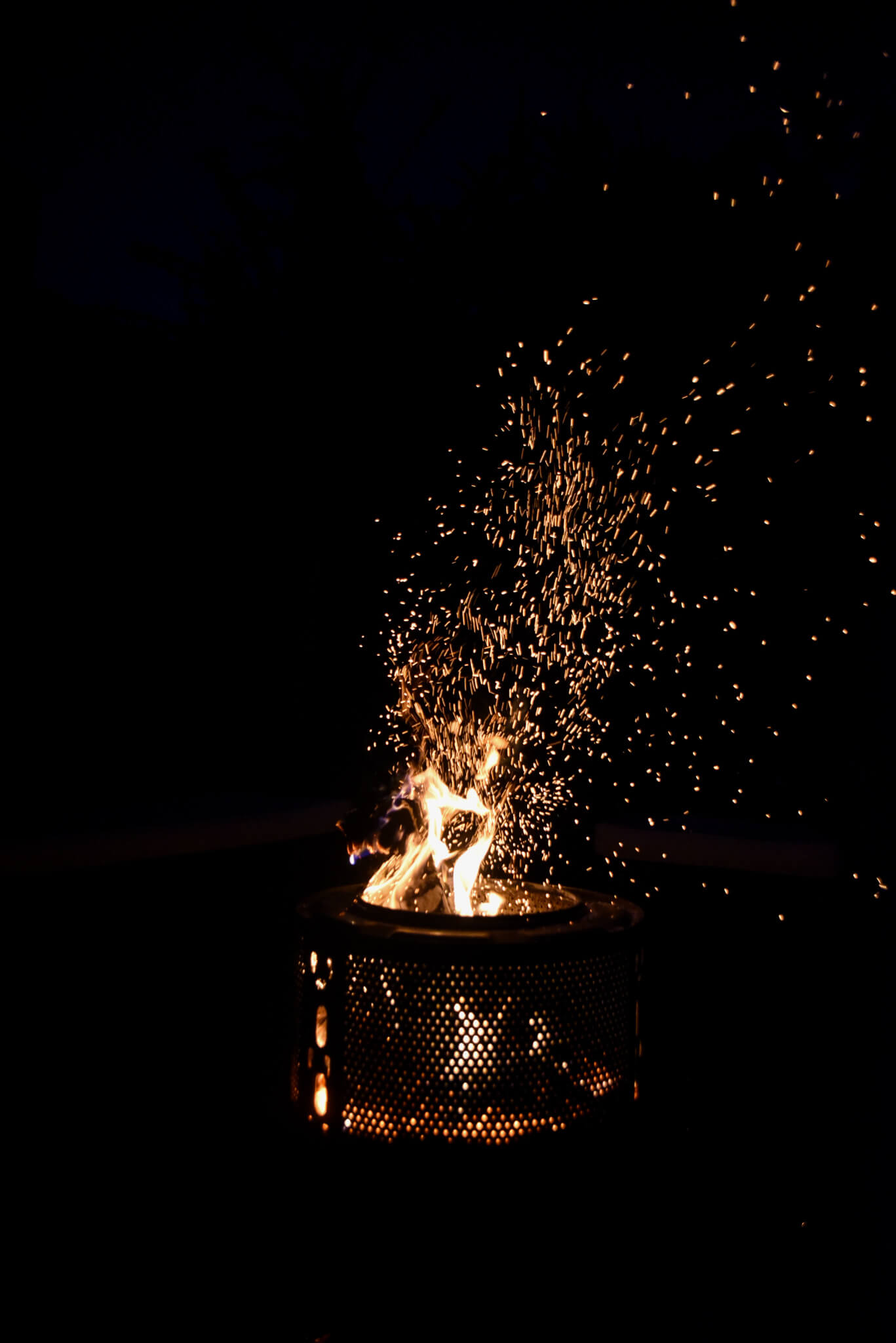 autumn bucket list fire pit