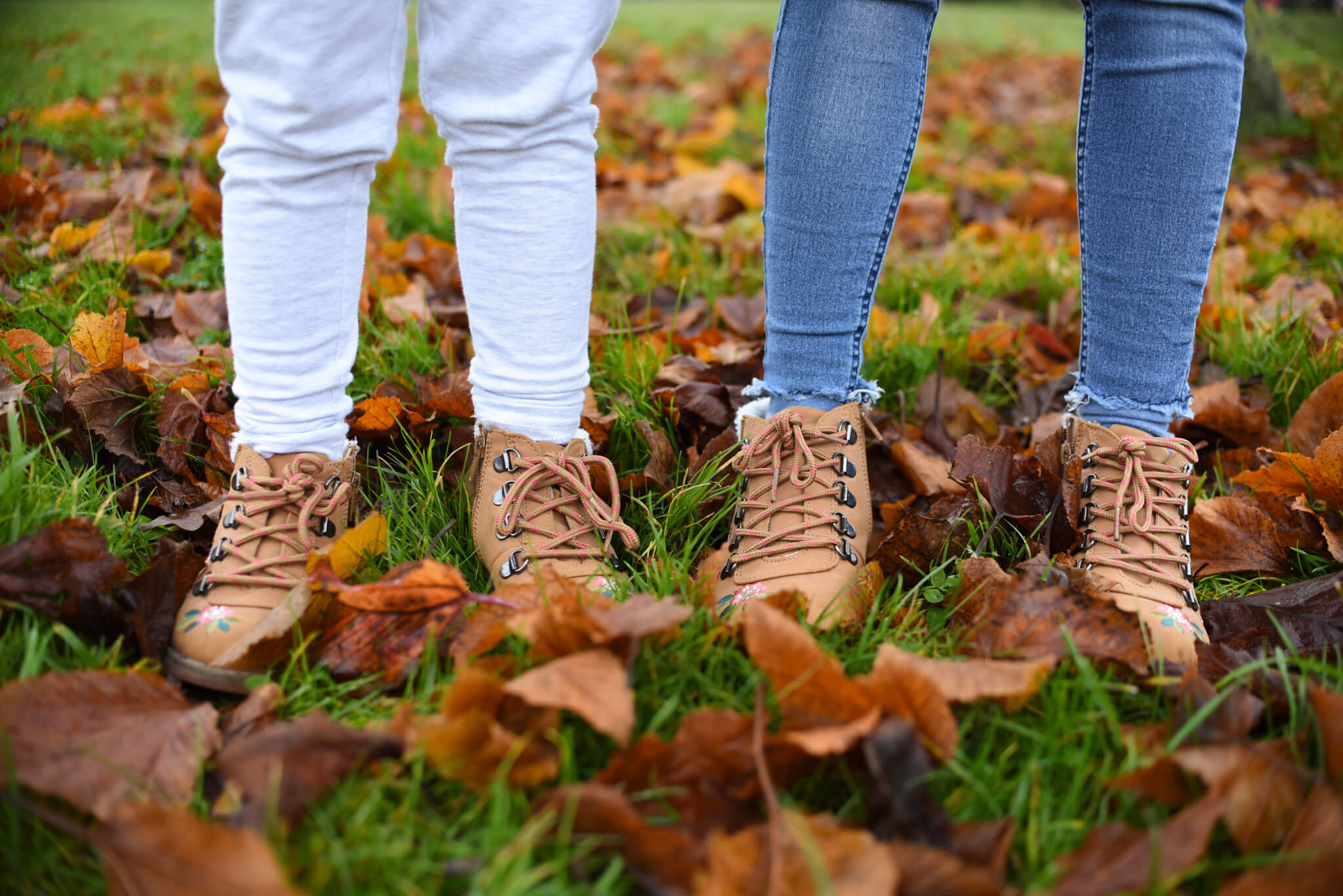 autumn bucket list crunching leaves