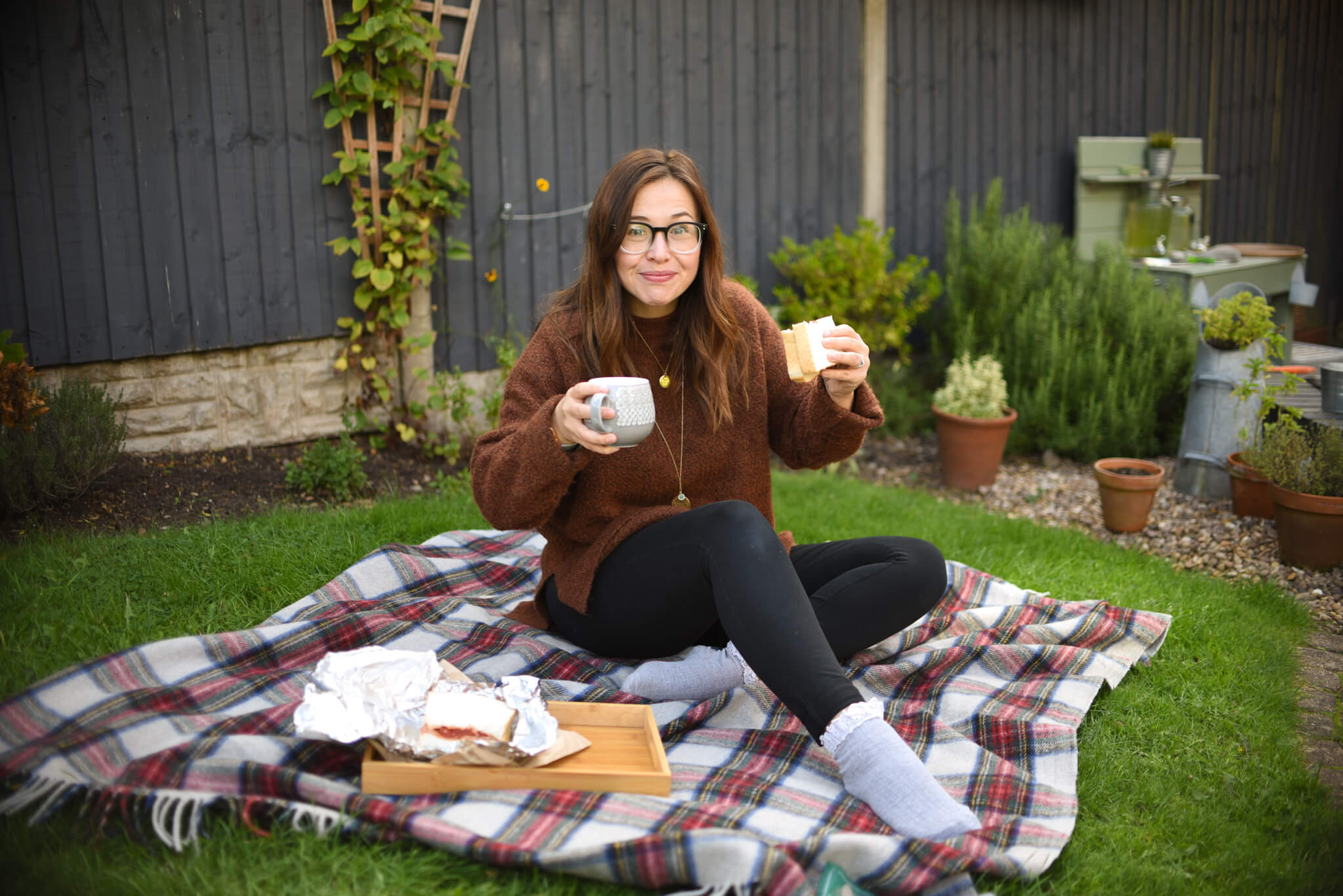 autumn bucket list picnic