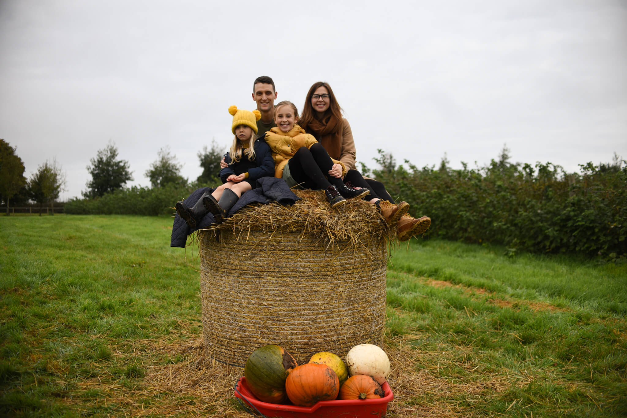 Autumn Bucket List Pumpkin picking
